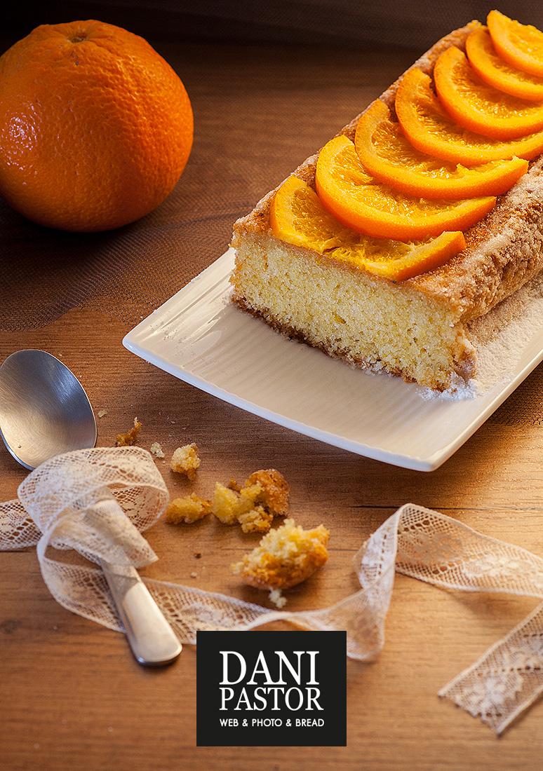Receta de bizcocho meloso de naranja